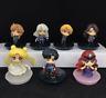 New 7pcs Sets Sailor Moon 25th Petit Chara Pretty Guardian Figure 5.5CM