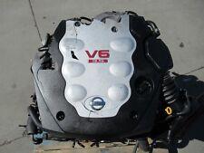 JDM Nissan 350Z Engine VQ35DE Infiniti G35 3.5L V6 Motor VQ35 Engine Wiring Ecu