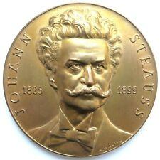 [R2322] Medaille 1949, 50. Todestag Johannstrauss, Sign. Hartig