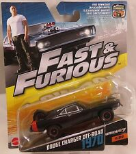 MATTEL Fast and Furious  FURIOUS 7 1970 DODGE CHARGER OFF-ROAD 1:55