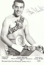 Sports Postcard-Boxing - Alan Minter -World Middleweight Champion 1980 Ref.2262