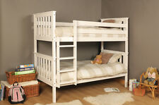 PREMIUM WOODEN BUNK - WEMBDON - PINE BUNK IN 2 COLOURS WITH MATTRESS OPTION