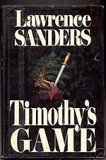 Timothy's Game by Lawrence Sanders (1988)