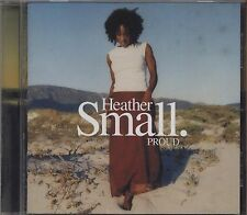 HEATHER SMALL - Proud - CD 2000 NEAR MINT CONDITION BOOKLET VG