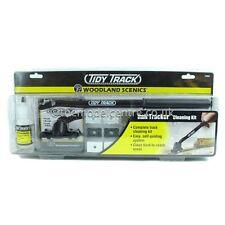 TT4550 Woodland Scenics Tidy Track Rail Tracker Cleaning Kit (N & HO/OO Scale)