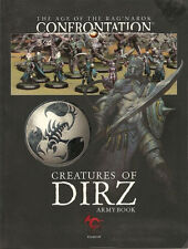Confrontation Creatures of Dirz Army Book NEW!