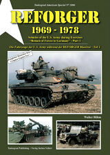 TANKOGRAD NO 3006 REFORGER 1969-1978 VEHICLES OF THE U.S. ARMY DURING REFORGER E
