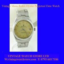 Reloj de Pulsera fecha de menta Vintage Rolex Oyster Perpetual sólo 1968