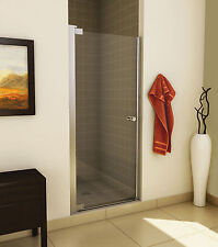 "MAAX 33"" MADONO 1/4"" ONE-PANEL FRAMELESS GLASS PIVOT DOOR FOR ALCOVE SHOWER"
