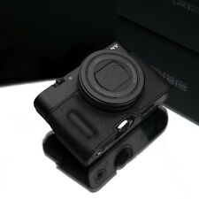 Gariz Leather half case Sony RX100III RX100IV RX100V HG-RX100M3BK Black