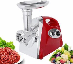 Electric Meat Grinder Sausage Maker Kitchen Home Commercial Stuffer Handle