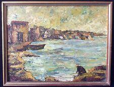 Provence provençale peinture s carton signée ?  Impressionnisme impressionniste