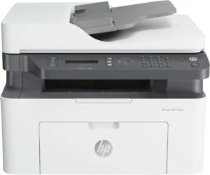 HP Laser 137fwg All in One A4 Laser Drucker 1200 x 1200 DPI (Grau, Weiß)