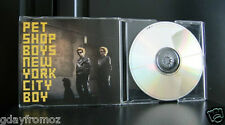 Pet Shop Boys - New York City Boy 4 Track CD Single Incl Video Australia Release