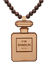 Good Wood Wu Tang Clan Shaolin No 36 Chambers Cologne Bottle Pendant Necklace NW