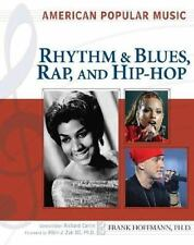 Rhythm and Blues, Rap, and Hip-Hop (American Popular Music)-ExLibrary