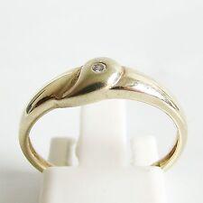 Ring Gold 333 Brillant 8 kt. Goldringe