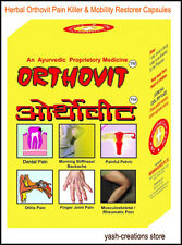 Repl Orthovit Muscle Pain Relief Herbal Capsule for All body parts & Health Care