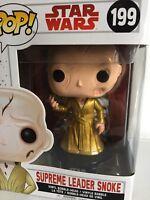 Funko POP! Star Wars The Last Jedi SUPREME LEADER SNOKE 199 Vinyl Bobble Head