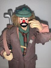 "Flambro ""Real Rags Collection"" Emmett Kelly -The Golfer Previous Next"