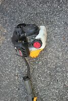 Cub Cadet BC280 Premium 2 Cycle Trimmer Weed Eater engine running project
