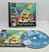 SpongeBob SquarePants: SuperSponge Game for Sony PlayStation PS1 PAL TESTED