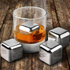 Stainless Steel Constant-temperature Ice Cube Wine Whiskey Beer Cooler Stones