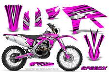 YAMAHA WR450F 2012-2013-2014 GRAPHICS KIT CREATORX DECALS SPEEDX BP