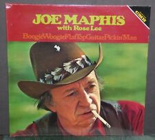 Joe Maphis with Rose Lee Boogie Woogie Flat Top Guitar Pickin Man SEALED LP