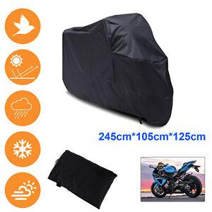 XL Motorcycle Motor Bike Bi Scooter Waterproof UV Dust Protector Rain Cover