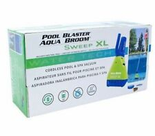 NEW- Pool Blaster Aqua Broom/vacuum: Sweep XL; Same Day Shipping!