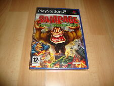 RAMPAGE TOTAL DESTRUCTION DE MIDWAY PARA LA SONY PS2 NUEVO PRECINTADO