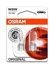 OSRAM Glühlampe Kennzeichenleuchte Kennzeichenlicht W5W 12V W2,1x9,5d / 2825-02B