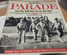 Parade Magazine Signed by Photographer Carl Mydans