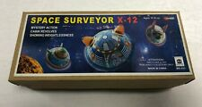 Tin Metal Space Surveyor X-12 set of 3 MS 633 Ha Ha Toy Co ~ New in Box!
