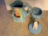 Willitts Peanuts Characters Snoopy & Linus Sugar Bowl & Creamer