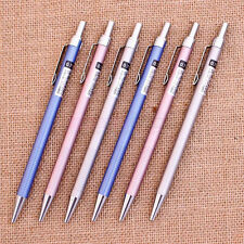 1pc Mechanical Pencil 0.7mm Automatic Draft Draughting Metal Barrel Eraser #JP