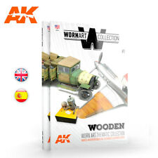 AK Interactive Book - WORN ART COLLECTION 01 WOODEN