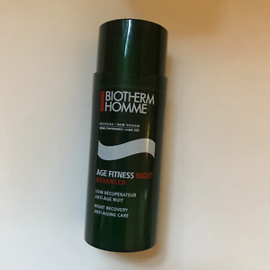 BIOTHERM HOMME Age Fitness Night Advanced Anti-Aging Care 50mL/1.69oz NWOB