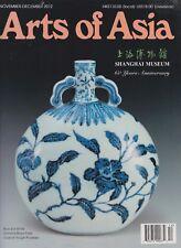 ART OF ASIA MAGAZINE SHANGHAI MUSEUM 60 YEARS ANNIVERSARY NOV/DEC 2012