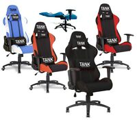 TANK 180° Ultra Comfy Reclining Gaming Chair Executive Office Computer Desk seat