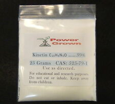 Kinetin 6-Furfurylaminopurine 25 grams 99% guaranteed purity, comes with rebates