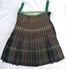 ✰ WW1 Military ISSUE Moore Taggart & Co CANADIAN SCOTTISH KILT Plaid TARTAN Army