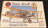 Airfix Vintage Bristol 1917 1/72 Scale Model Series 1  01080 Bristol F 2B NIB