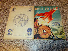 ALBUM RUOTE VELE ALI ED.BEA 1958 COMPLETO DISCRETO/BUONO TIPO PANINI LAMPO EDIS