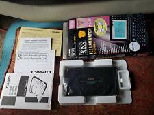 Casio SF-5980-W B.O.S.S. Business Organizer Scheduling System 512KB ILLUM Vintag