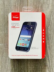 NEW! SAMSUNG GALAXY J1 - 8GB - BLUE (VERIZON) SMARTPHONE PREPAID