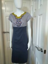 Boden Cotton Occasion Dress Size 10L