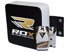 RDX Boxing Punching Bag Wall Pad Gloves Kick Bracket UFC Focus Strike Shield MMA