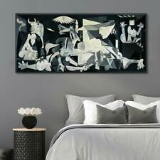 """Framed Extra Large Art-- Guernica by Pablo Picasso Wall Art Home Decor 26""""x60"""""""